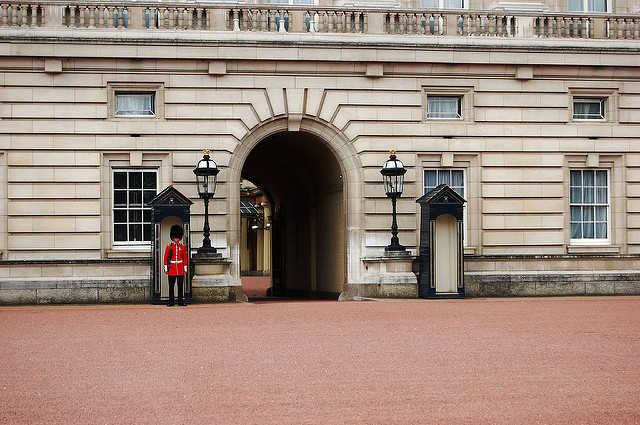 Guard at Buckingham Palace